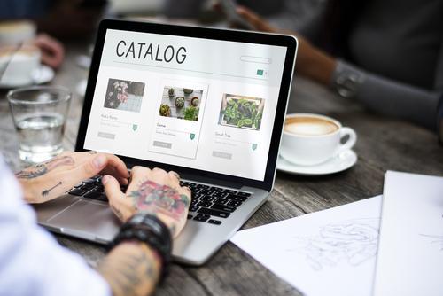 automatización catálogos